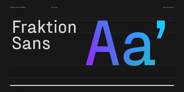 Fraktion Sans Font Family Download Font Free