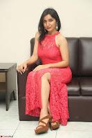 Sakshi Kakkar in Red Legsplit Sleeveless Gown at Dare movie Press meet ~  Exclusive 037.JPG