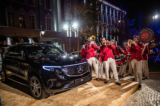 Lançamento Mercedes EQC