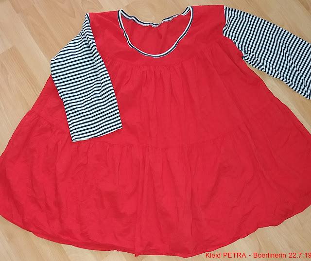 Basic-Schnittmuster Kleid PETRA von Boerlinerin