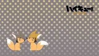 Hellominju.com: ハイキュー!! アニメ   稲荷崎アイキャッチ 第4期 宮兄弟   宮侑   宮治   Haikyū!! Commercial Break    Hello Anime !