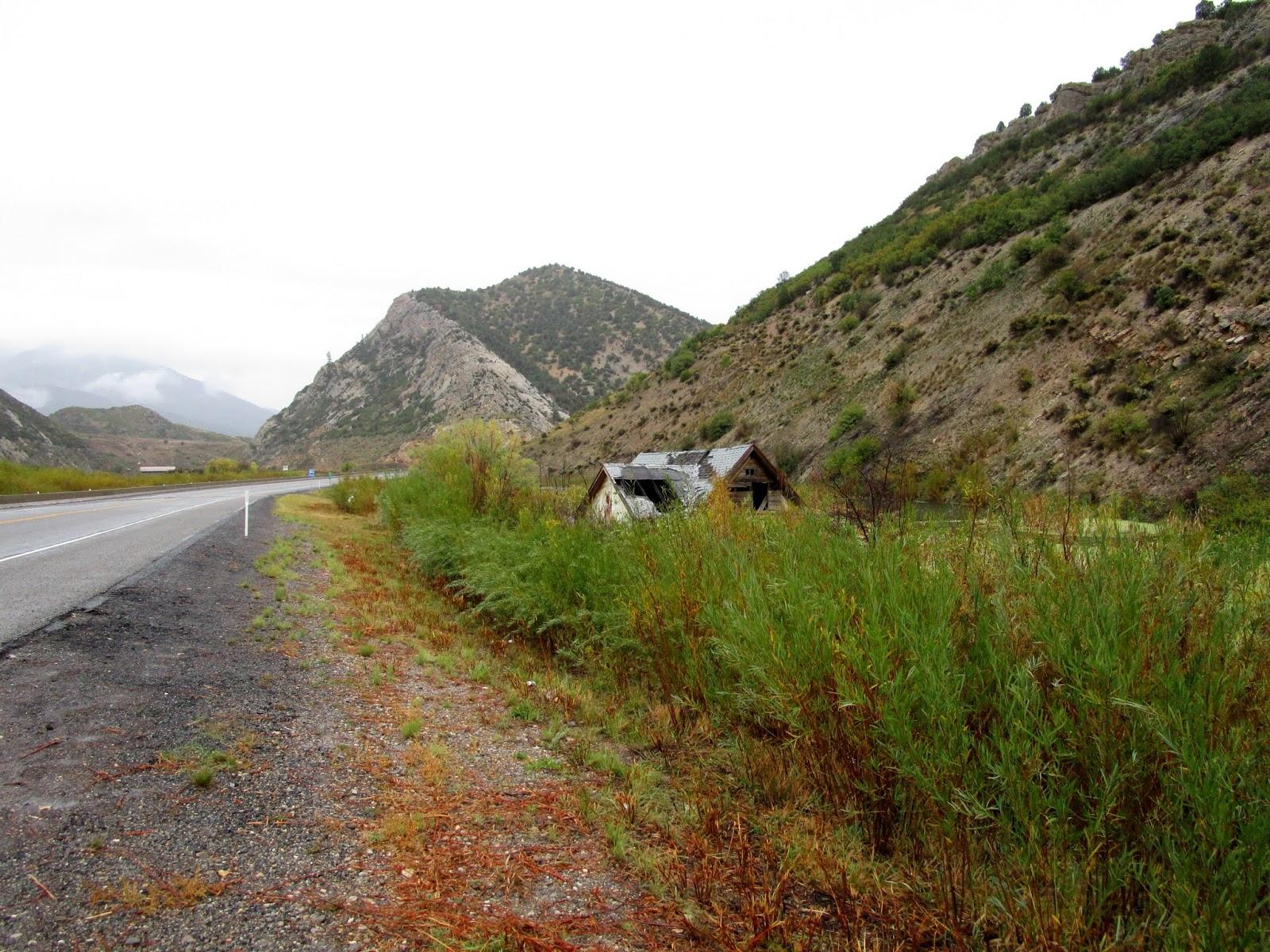 Город-призрак Тисл, Юта (Ghost town Thistle, Utah)
