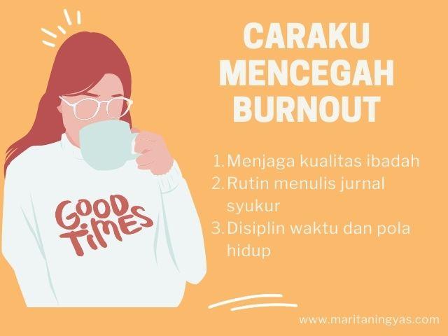 caraku mencegah burnout