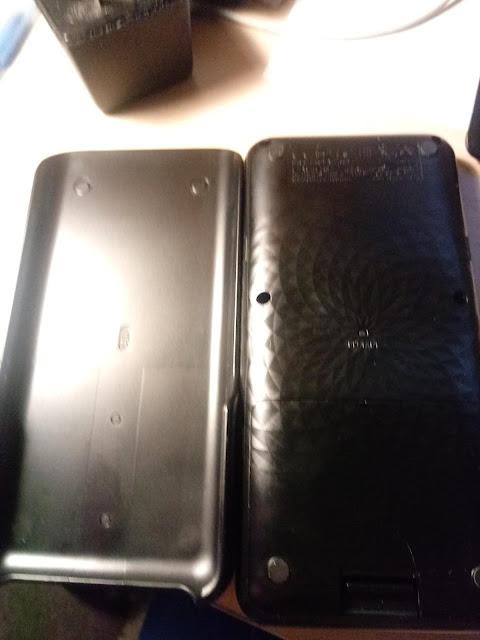 Case and Back: Casio fx-9750GIII