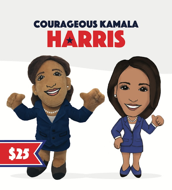 Courageous Kamala Harris