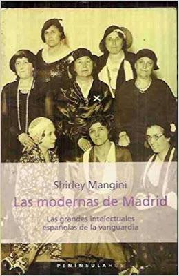 portada de Las modernas de Madrid en la que se ve a un grupo de mujeres posando
