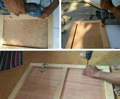 Cara Membuat Kabinet Dapur Sendiri (Dari Bahan TriplekKayu)