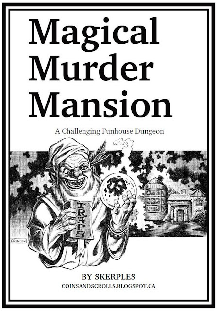 https://www.drivethrurpg.com/product/276115/Magical-Murder-Mansion