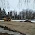 В Гребінці розпочато будівництво мультифункціонального спортивного майданчика із синтетичним покриттям