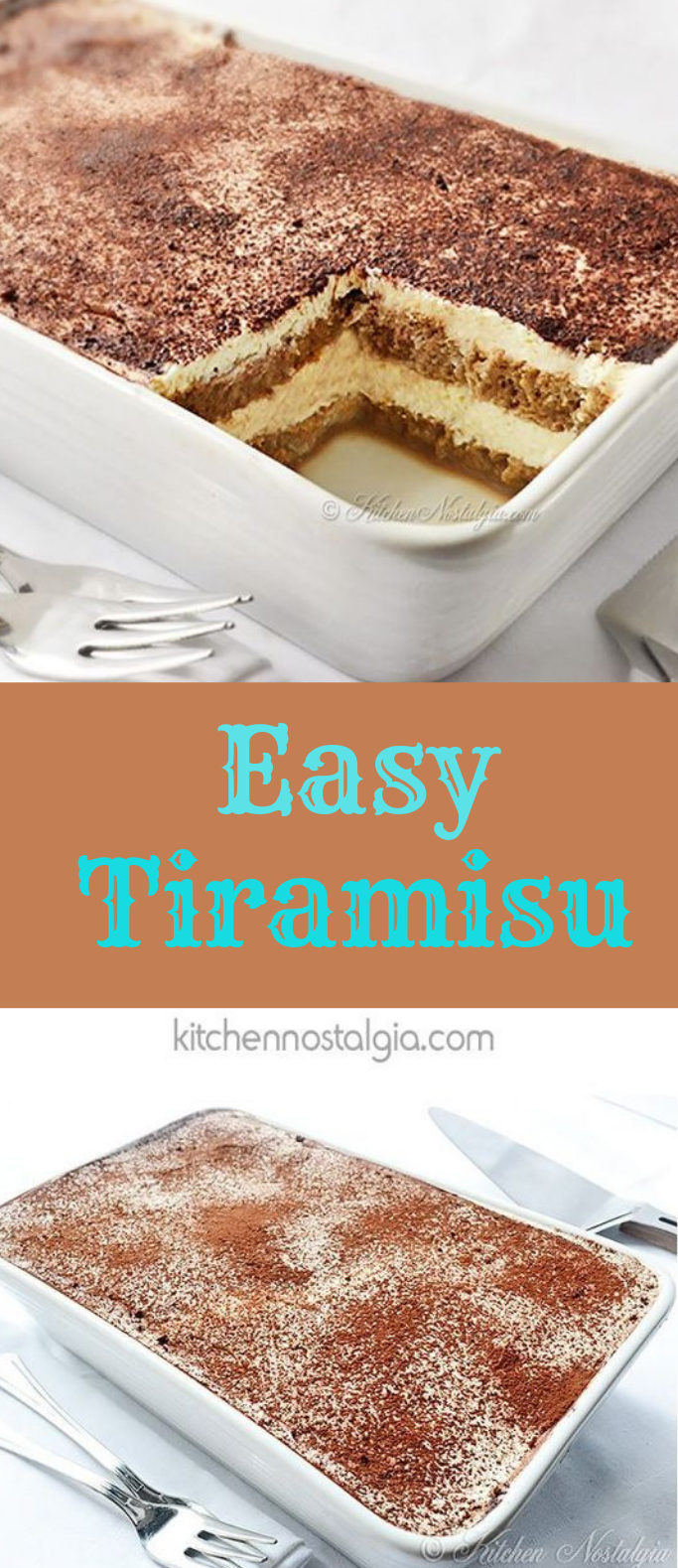 EASY TIRAMISU RECIPE #dessert #cake