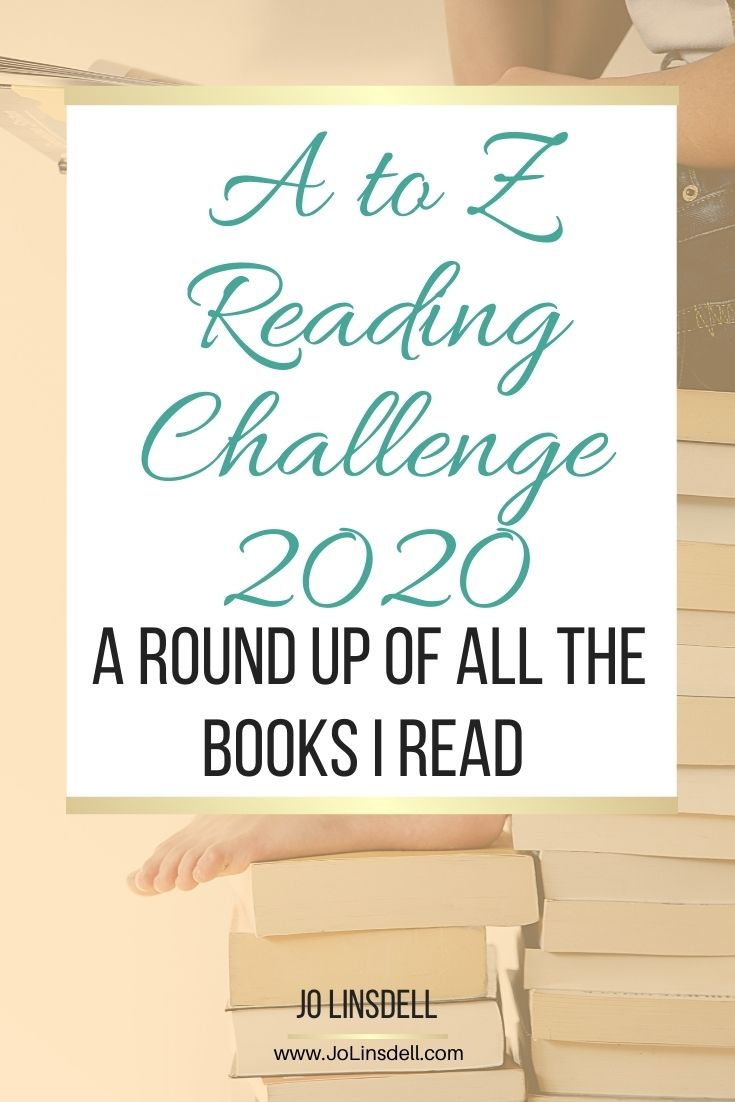 A to Z Reading Challenge 2020: A Recap of all the books I read
