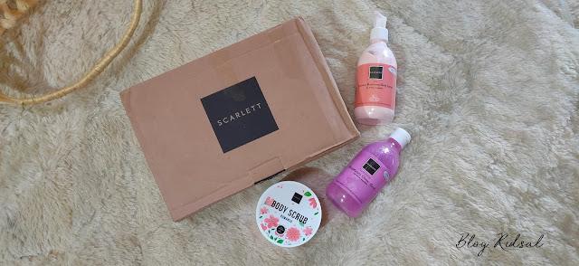 Semakin Peduli Kulit - Scarlett Whitening Body Scrub, Shower Scrub & Body Lotion