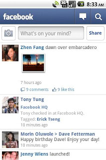 Facebook mo Android v1.7.2