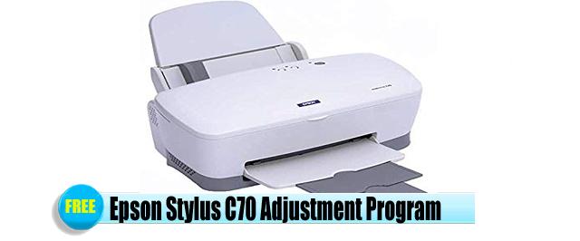 Epson Stylus C70 Adjustment Program