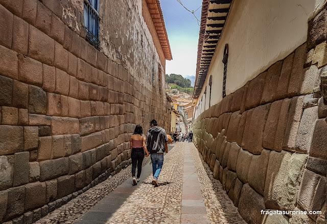 Paredes incas em Cusco, Peru