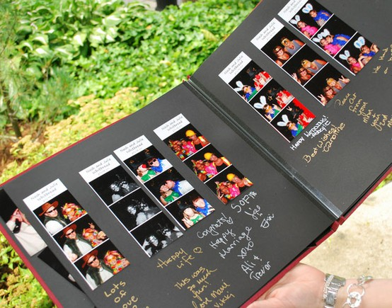 photo wedding guestbook