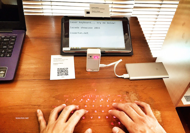 I found this virtual laser keyboard pretty nifty
