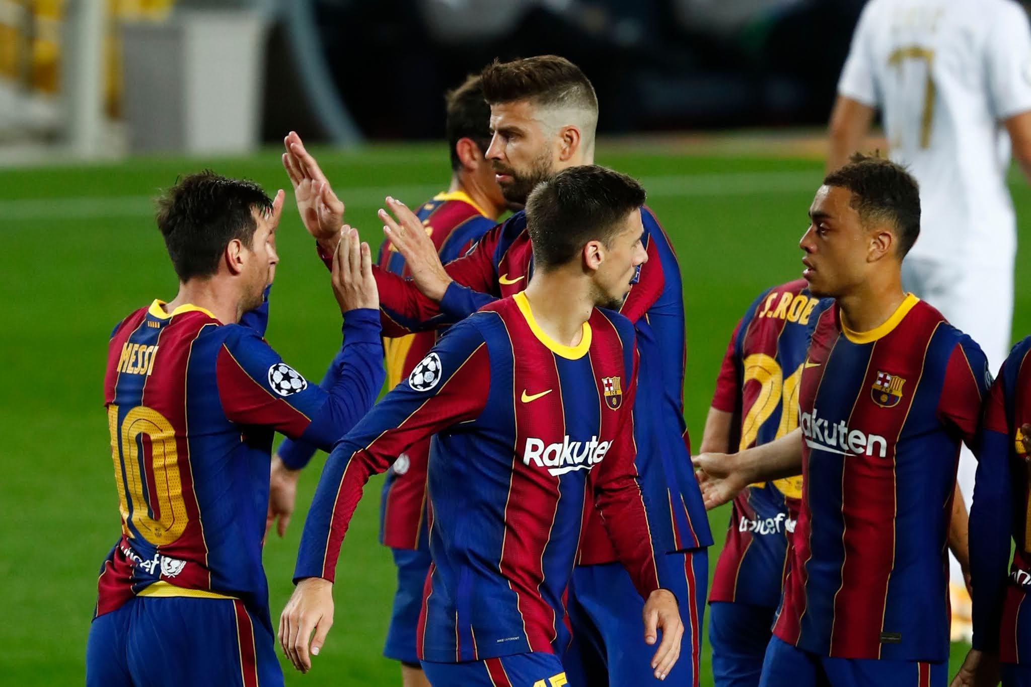 Barcelona Ferencvaros Champions League