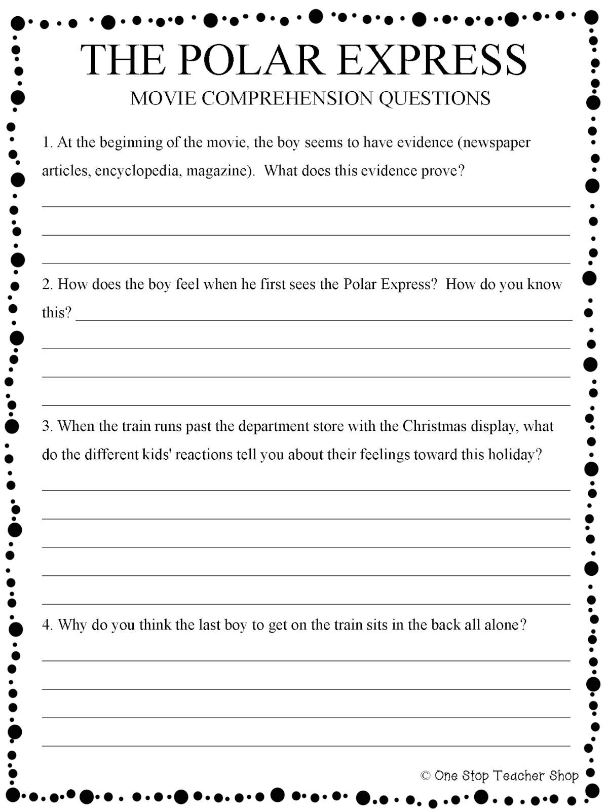 Upper Elementary Snapshots My 5 Favorite Holiday Classroom Traditions