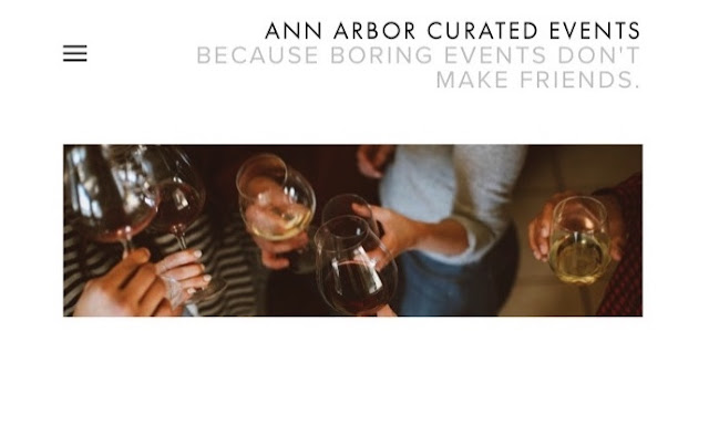 My Latest Venture: Ann Arbor Curated Events