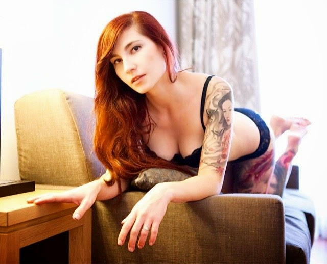 Henika Suicide Sexy Female Models With Tattoos