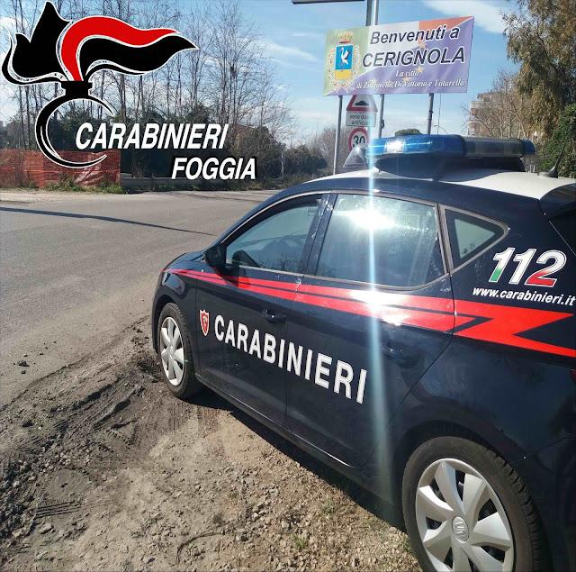 Cerignola (FG), i Carabinieri arrestano 7 persone in flagranza di reato