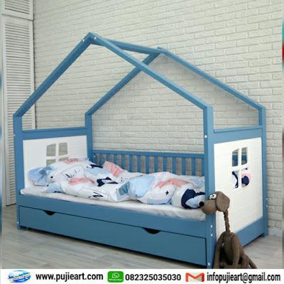Tempat tidur anak yang unik harga murah