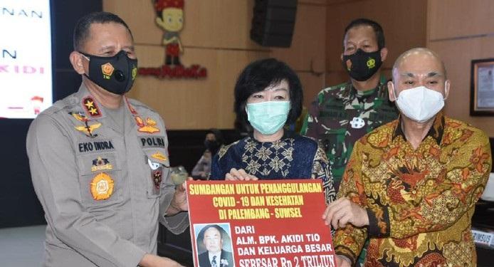 Kapolda Sumsel Akhirnya Beberkan Awal Mula Kena 'Prank' Hibah Rp 2 T Keluarga Akidi Tio