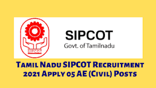 SIPCOT Recruitment 2021 – Various Chartered Accountant Post   Apply Online