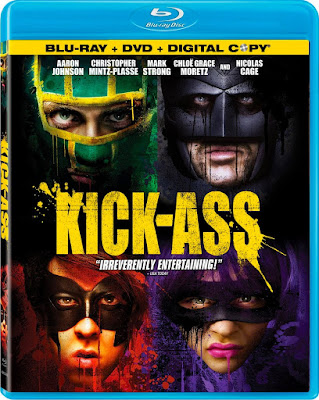 Kick-Ass (2010) Dual Audio [HINDI HQ Fan Dub] 720p | 480p BluRay x264 1Gb | 400Mb