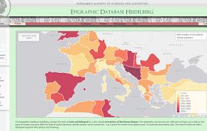 Η βάση δεδομένων των αρχαίων επιγραφών του Πανεπιστημίου της Χαϊδελβέργης - Epigraphischen Datenbank Heidelberg (EDH)
