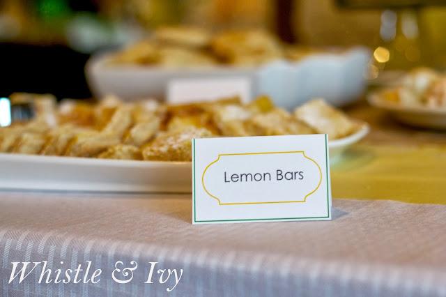 Citrus Themed Baby Shower Oranges Lemons Limes Grapefruit