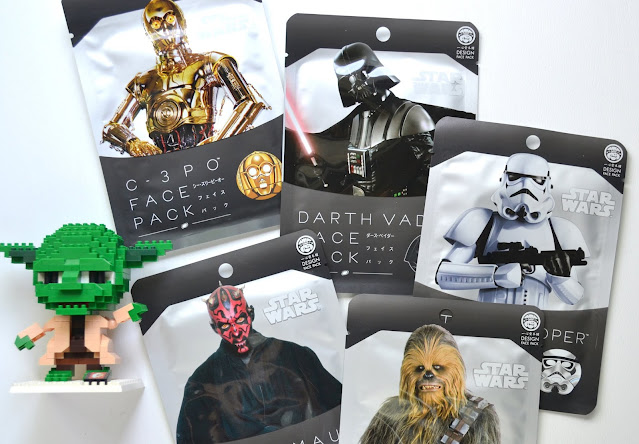 Design Face Pack Star Wars Collection Flatlay