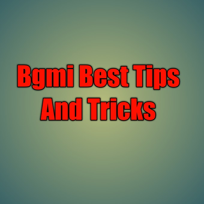 BGMI (Battlegrounds Mobile India)I Best Tips And Tricks 2021