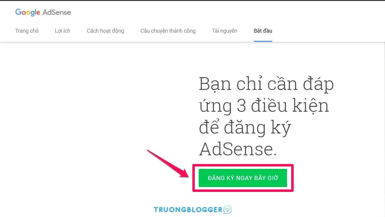 Hướng dẫn đăng ký Google Adsense Content thành công 100%