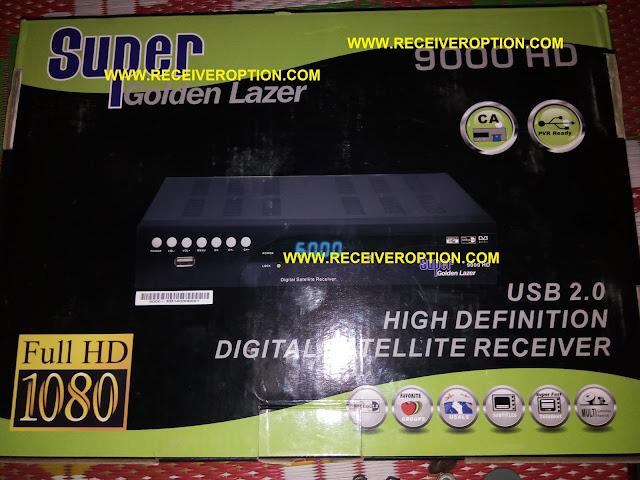 SUPER GOLDEN LAZER 9000 HD RECEIVER DUMP FILE