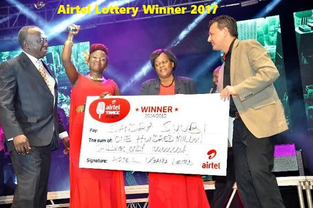 Airtel Lottery Winner 2017