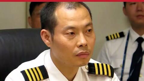 Chinese pilot, Liu Chuanjian,