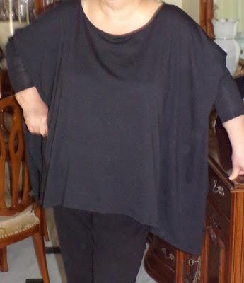 Camiseta casual negra