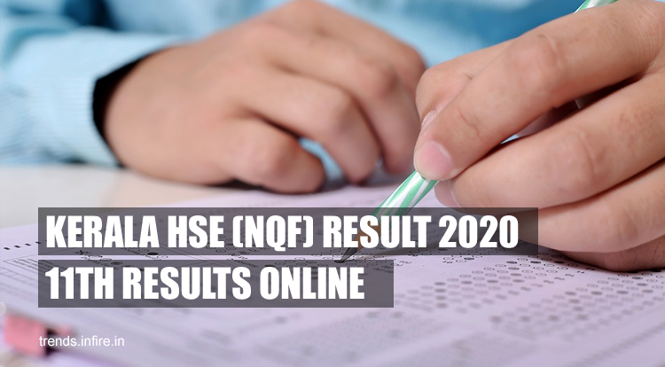 Kerala HSE (NSQF) FIRST YEAR Results 2021