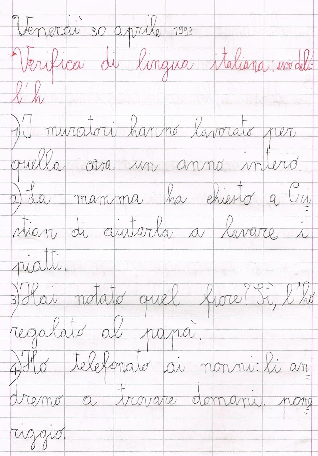 Conosciuto La lettera h: spiegazioni ed esercizi di verifica d'ortografia. YB25