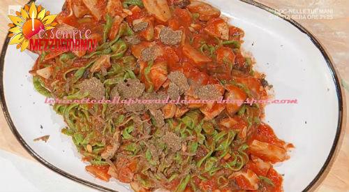 Tagliolini verdi con funghi porcini ricetta Ivano Ricchebono