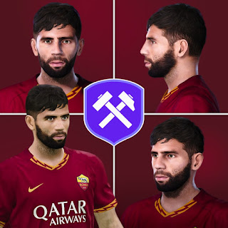 PES 2020 Faces Federico Fazio by Volun