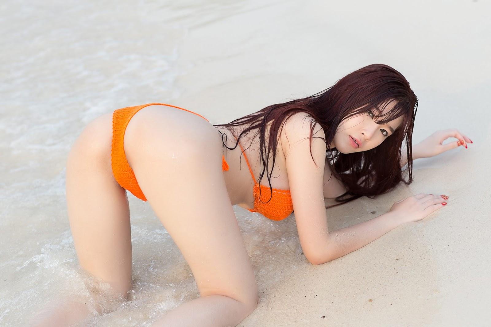 Thailand Model Sukanay Konin Part 6 On The Beach (60 Pict)