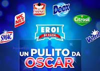 """Concorso Eroi di Casa 2021 """" Un Pulito da Oscar"""" : in palio 50 GiftCard Idea Shopping Blue da 50 euro e 2 Soundbar Samsung( euro 490,98 ciascuno)"""
