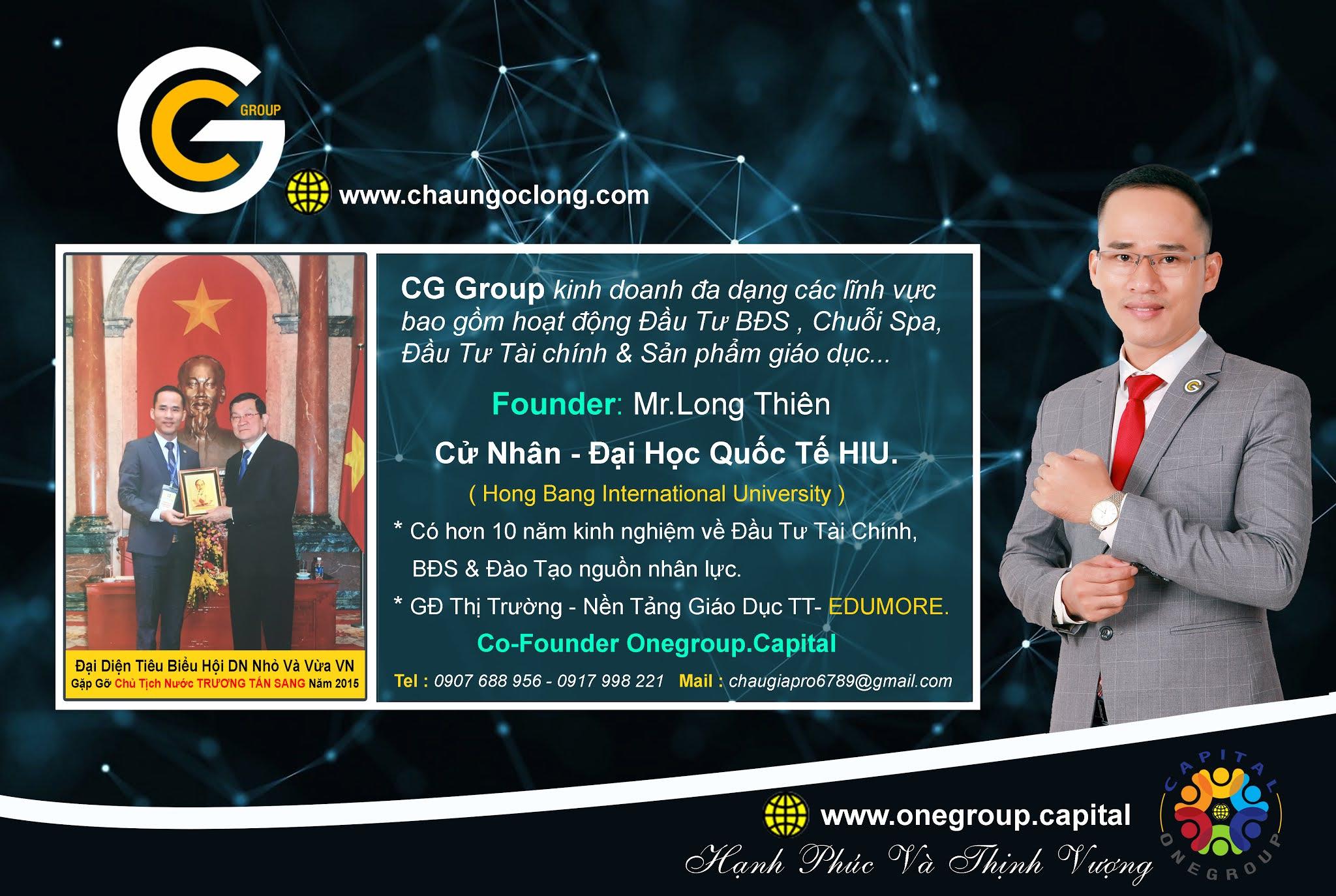 <b>GIỚI THIỆU VỀ CG GROUP</b>