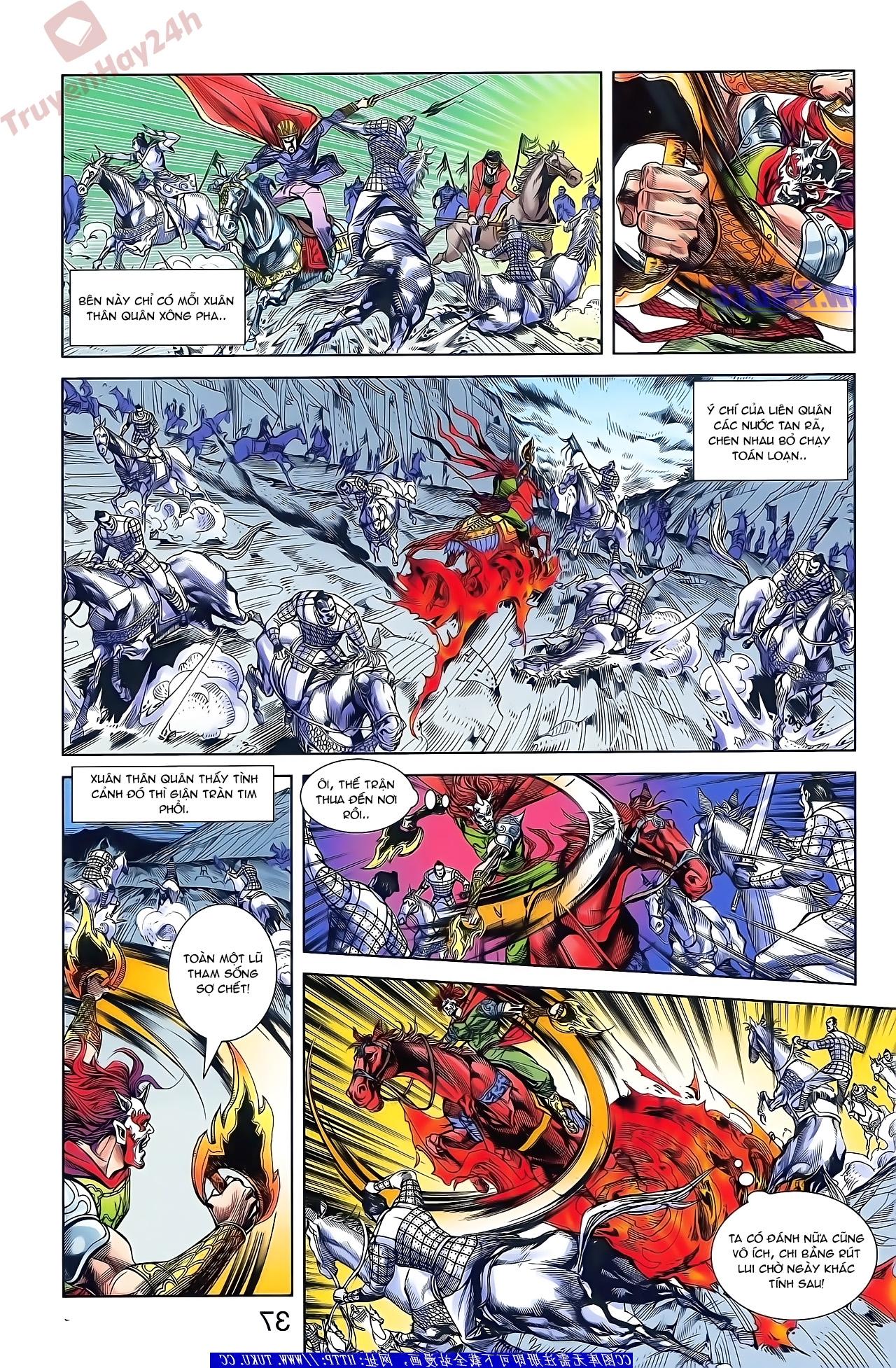 Tần Vương Doanh Chính chapter 48 trang 22