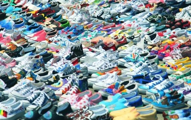 Marie Antoinette style sneakers