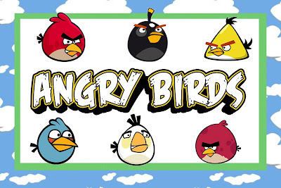 Angry Birds Free Printable Party Invitations