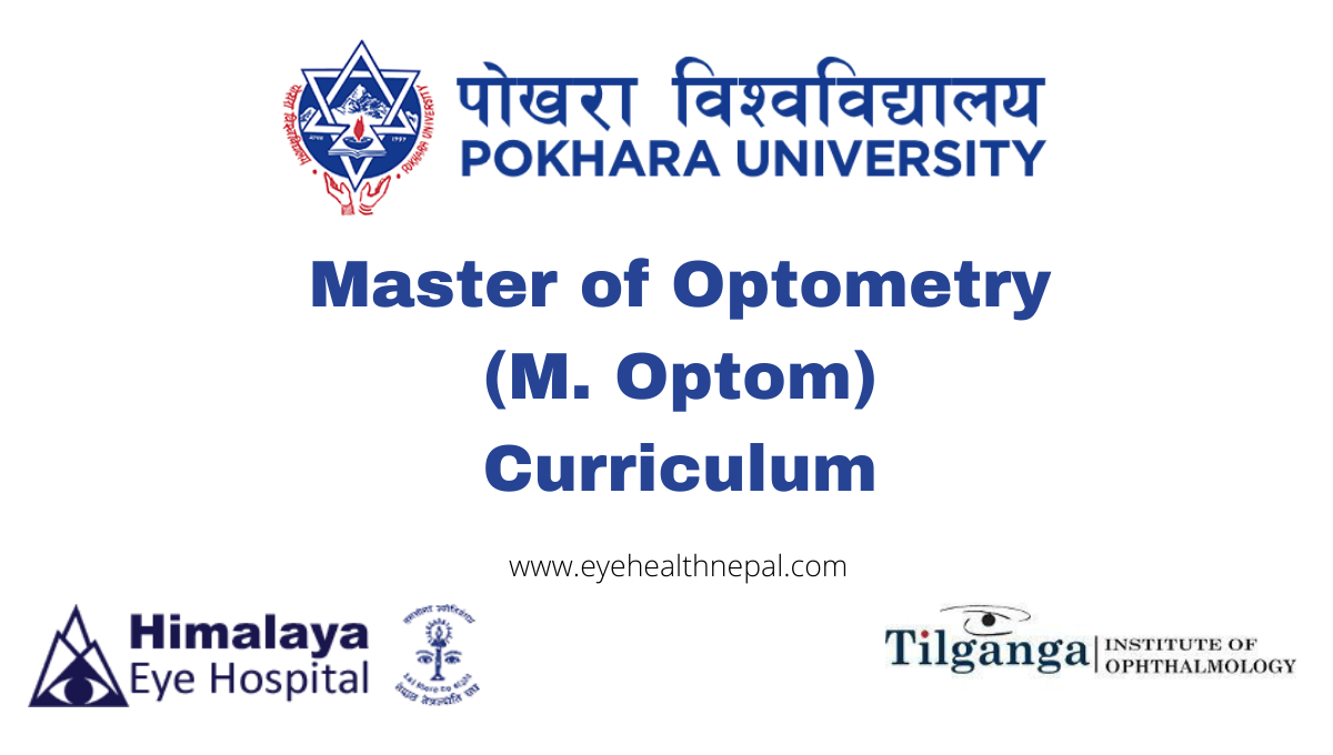 Pokhara University Master of Optometry (M. Optom) Curriculum